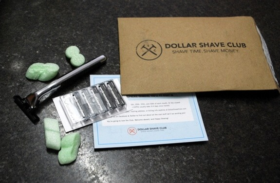 Dollar Shave Club Package