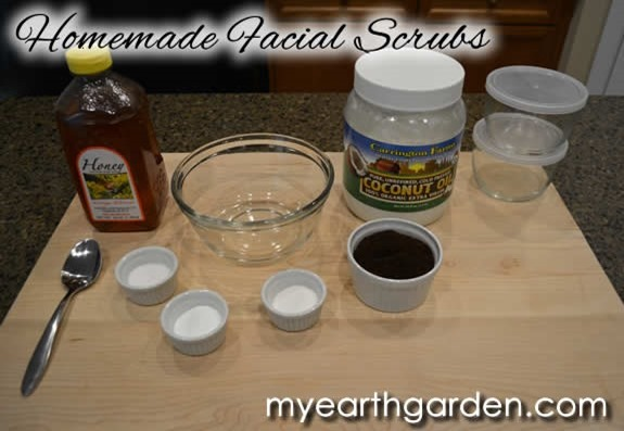 Make your own facial scrubs